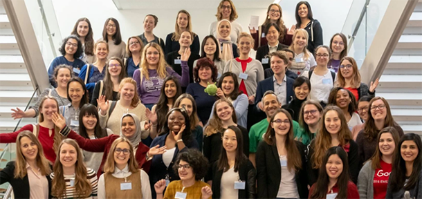 Attendees at the Oxbridge Women In Computer Science Conference 2019