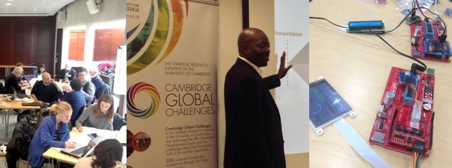 Image of Cambridge Global Challenges workshop