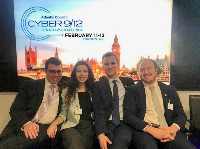 Student group at Cyber 9/12