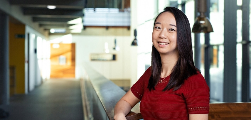 Image shows PhD student Michelle Lee