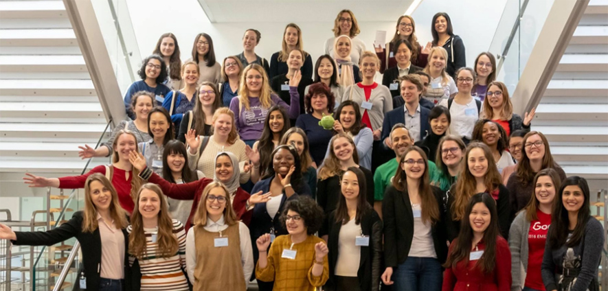 Image shows Mahwish Arif at the Oxbridge Women in Science Conference