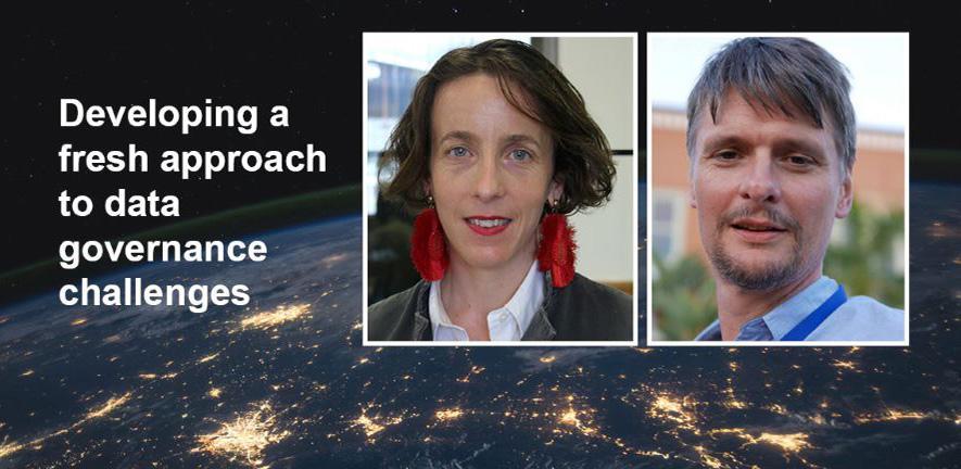 Image shows Professors Sylvie Delacroix & Neil Lawrence