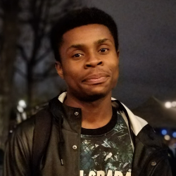 Image of inaugural DeepMind Cambridge Scholar David Adeboye