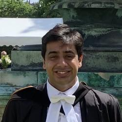 Image of PhD student Shyam Tailor
